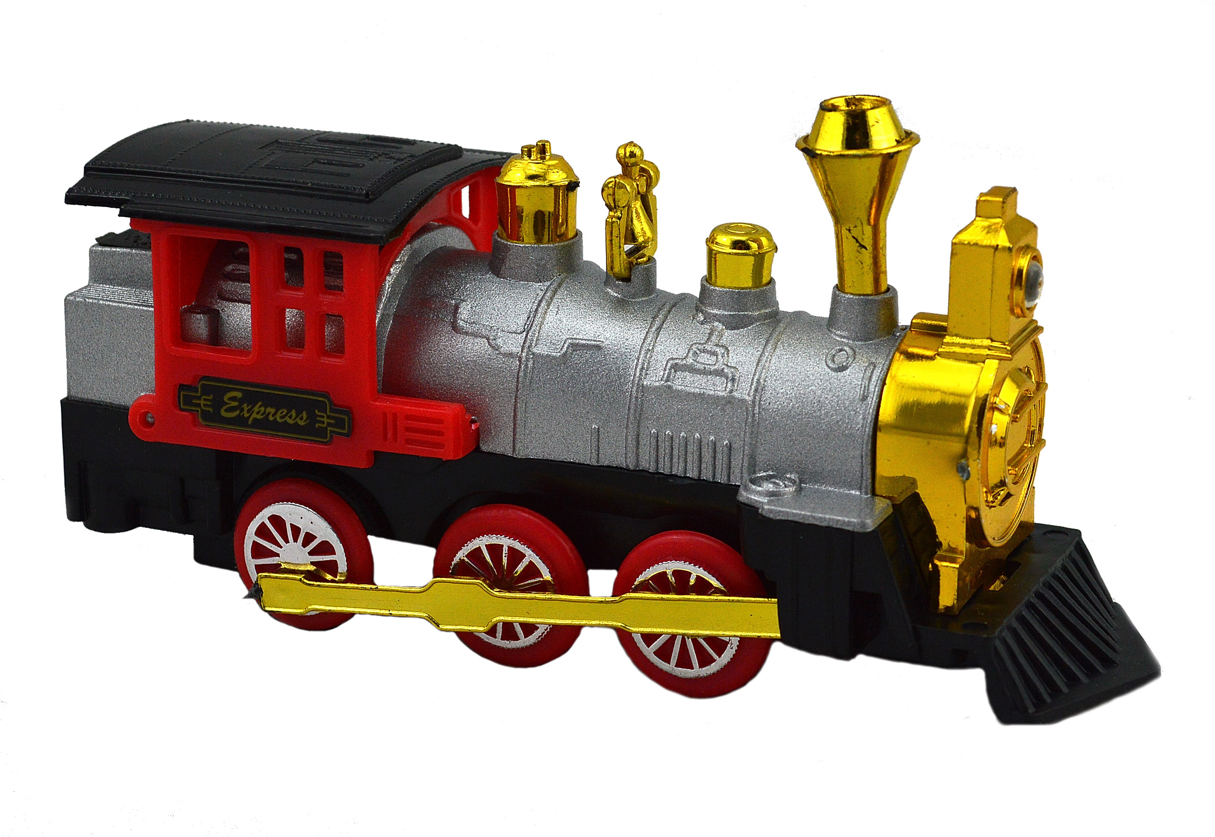 Mv203 Die Cast Friction Power Locomotive Jack In The Box